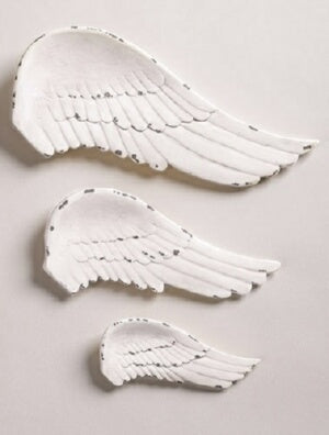 Wall Plaque Set-Wings (3 Pieces)