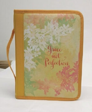 Bible Cover-Grace Not Perfection