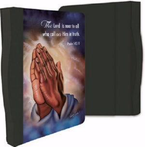 Bible Cover-Praying Hands
