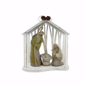 "Centerpiece-Holy Family (13""H)"