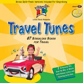 Audio CD-Cedarmont Kids/Travel Tunes