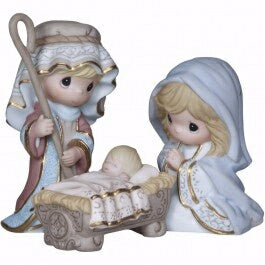 Nativity-Come Let Us Adore Him-Holy Family Only-Se