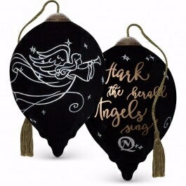 Ornament-Ne'Qwa Art-Hark The Herald Angel Sing-Pet