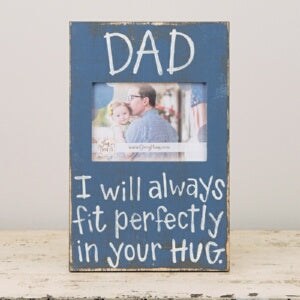 Dad (9 x 14) (Holds 5 x 7 Photo) Frame