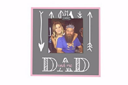 Clip Frame-Dad And Me (8 x 8)
