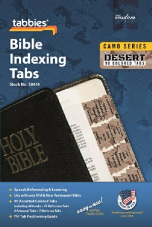 Bible Tab-Camo Series-Desert-Old & New Testament