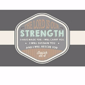"Cards-Pass It On-Our Strength (3""x2"") (Pack of 25)"