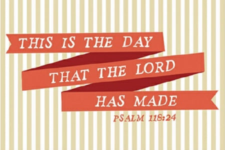 "Cards-Pass It On-Day The Lord Made (3""x2"") (Pack o"