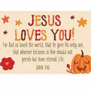 "Cards-Pass It On-Jesus Loves You (3""x2"") (Pack of"