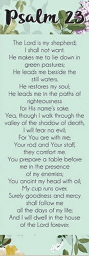Bookmark-Bible Basics-Psalm 23