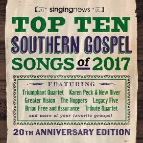 Audio CD-Singing News Top 10 Southern Gospel Songs