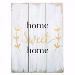 "Wood Pallet Sign-Home Sweet Home (11.75"" x 15.75"")"