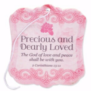 Air Freshener-Precious And Dearly Loved