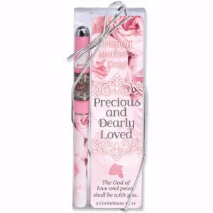 Pen & Mother's Day Bookmark-Precious And Gift Set