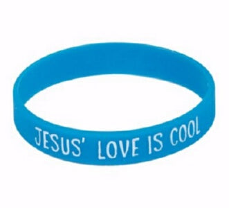 VBS-Polar Blast-Jesus' Love Is Cool Wristband (Mar