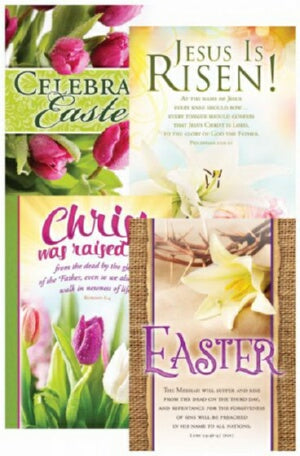 Card-Boxed-Easter  Jesus Is Risen Assortment (KJV)