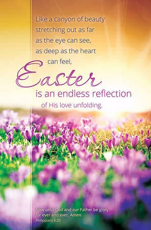 Easter Is An Endless Reflection (Philippi Bulletin