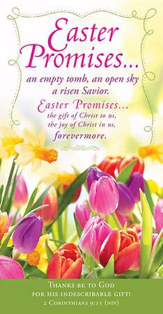 Offering Envelope-Easter Promises...(2 Corinthians