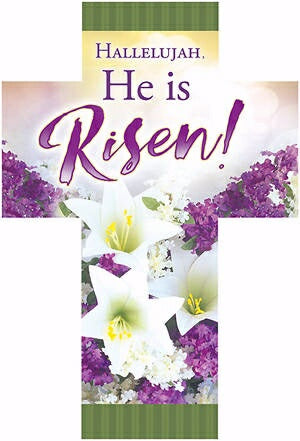 Bookmark-Hallelujah  He Is Risen! (Romans 6:4)-Die