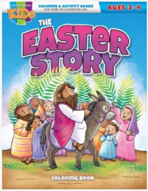 The Easter Story Coloring & Activity Book