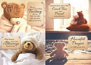 Card-Boxed-Love Bears All Assorted Get Well (KJV)