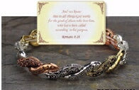 Eden Merry-Blessed Romans 8:28 Bracelet