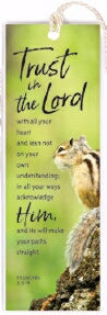 Bookmark-Trust In The Lord