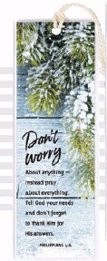 Bookmark-Don't Worry About Anything
