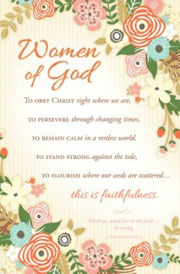 Women Of God: To Obey Christ (1 Corinthia Bulletin