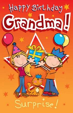 Singing Card- Happy Birthday Grandma