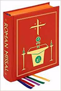 Roman Missal (Chapel Edition)-Burgundy Hardcover
