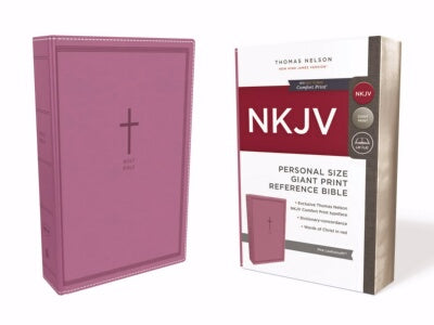 PRE-ORDER: NKJV Personal Size Giant Print Reference Bible (Co