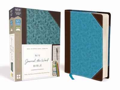 PRE-ORDER: NIV Journal The Word Bible (Comfort Print)-Chocola