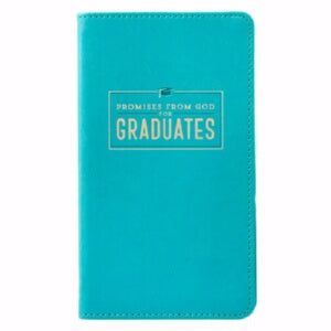 Promises From God For Graduates-Mint Green LuxLeat