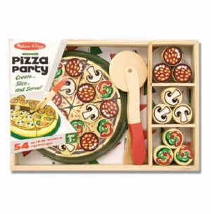 Pretend Play-Pizza Party (54 Pieces) (Ages 3+)