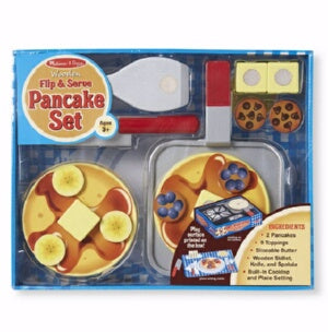Pretend Play-Flip & Serve Pancake Set (18 Pieces)