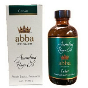 Anointing Oil-Cedar-4 oz