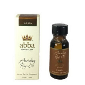 Anointing Oil-Cassia -1/2 oz