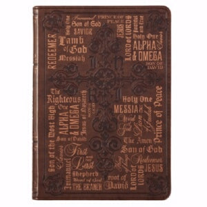 Journal Lux-Leather Flexcover Names of Jesus