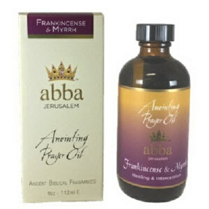 Anointing Oil-Frankincense & Myrrh-4 oz