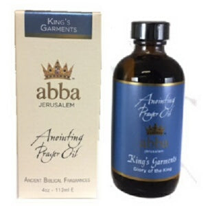 Anointing Oil-King's Garments -4 oz