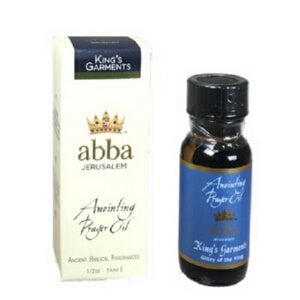 Anointing Oil-King's Garments -1/2 oz