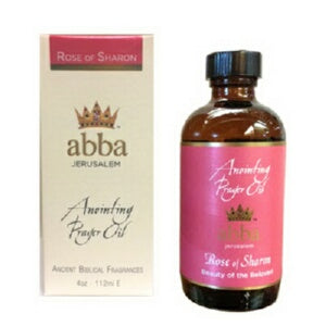 Anointing Oil-Rose of Sharon -4 oz