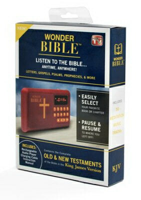 KJV Wonder Bible Audio Player