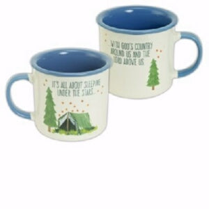 Mug-Sleeping Under The Stars (Camping) (16 Oz)