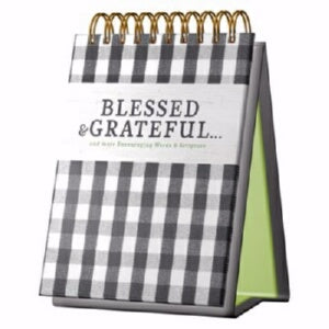 PRE-ORDER: Desktop Art-Blessed & Grateful (Aug)