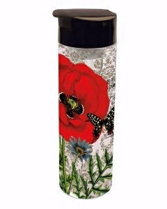 Infuser Tumbler-Red Poppy (20 Oz)