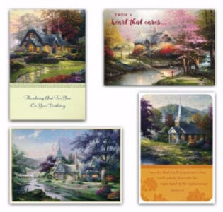 Card-Boxed-All Occasion-Thomas Kinkade (Box Of 12)