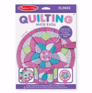 Quilting Made Easy: Flower Kit (Ages 6+)