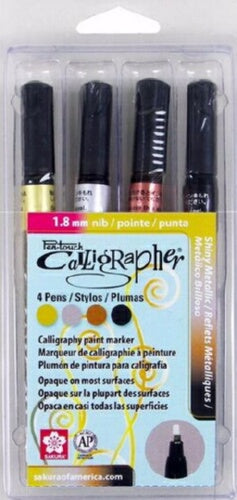 Touch Calligrapher (1.8 mm) Fine (4 Pack Assor Pen